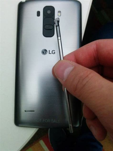 the stylus for the lg g4 seems to leaked today ahead of next month s launch
