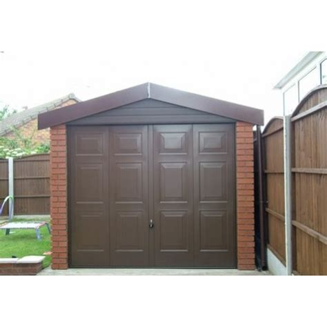 compton detached sectional garage lidget concrete sectional garages free delivery and installation