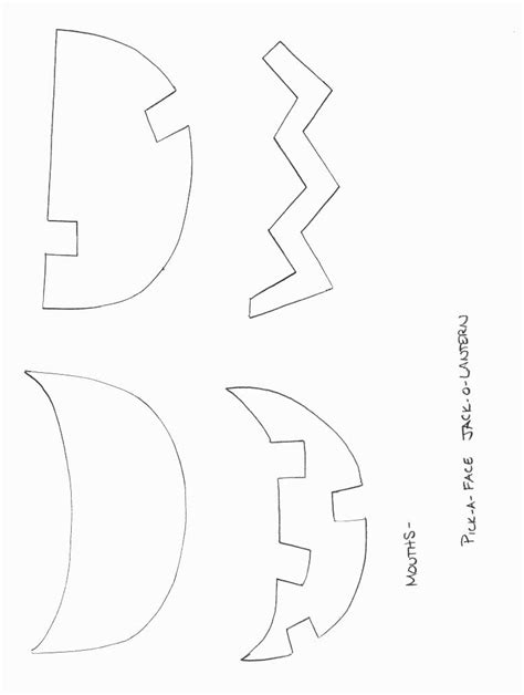 jack o lantern printable template halloween crafts print your jack o lantern template