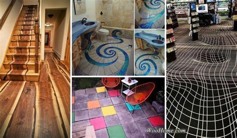 hardwood flooring amazing pattern dream house 15 fascinating diy floor ideas for indoors and outdoors