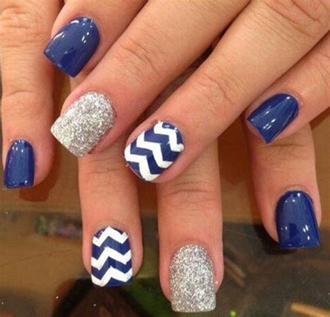 blue pattern nails 40 blue nail art ideas for creative juice
