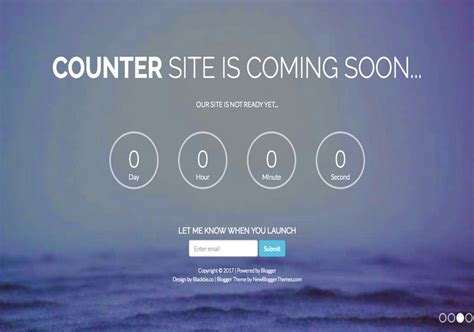 counter coming soon template free graphics
