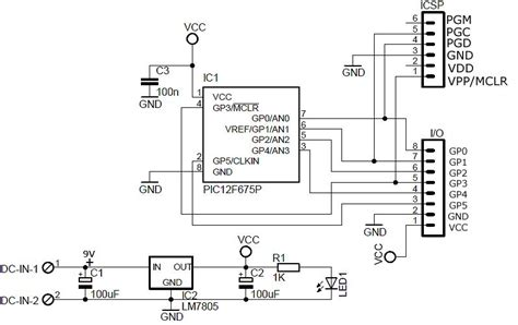 board wiring pic microcontroller primer tutorial 1 circuit wiring