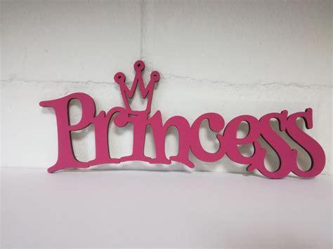 schreibtische 5 buchstaben schriftzug quot princess quot wanddeko kinderzimmer liebe