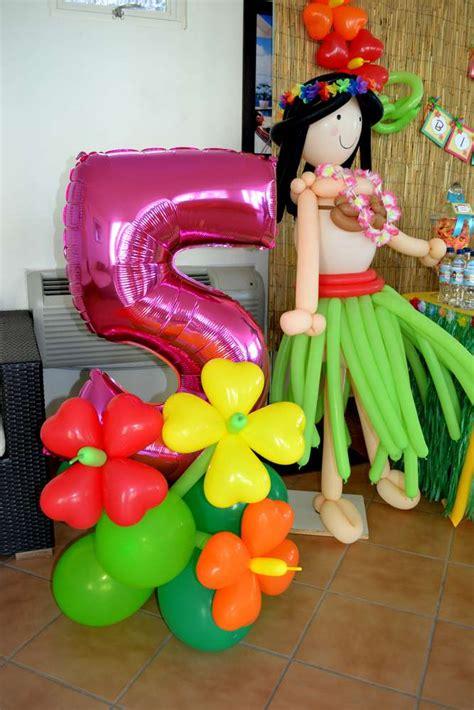 Hawaiian Balloon Decorations by Hawaiian Luau Birthday Ideas Photo 1 Of 33 Catch