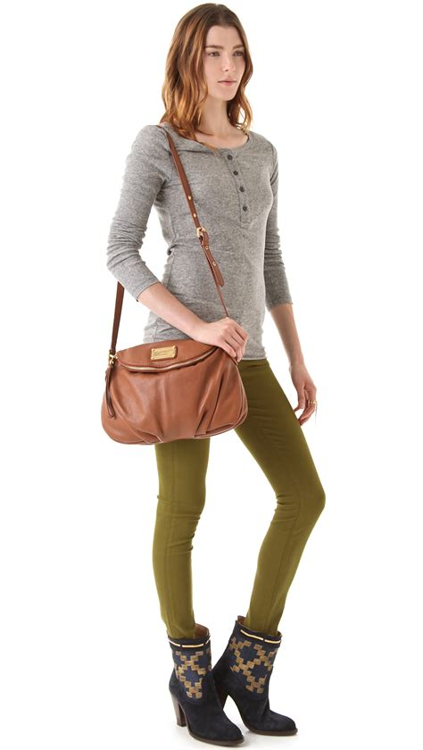 Marc By Marc Marc By Marc Miss Marc Canvas Zip Pouch by Lyst Marc By Marc Classic Q Bag In Brown