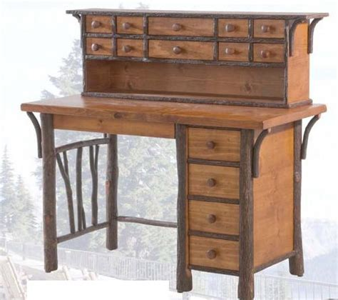 hickory fork fly tying desk and hutch lodge craft