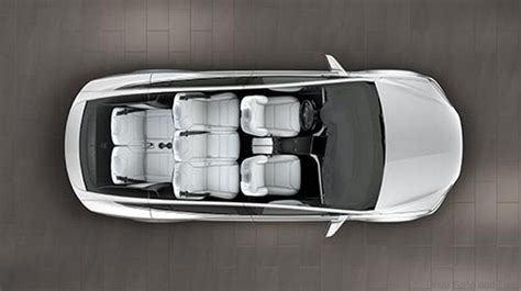 Tesla Model X Seating Tesla Model X Detailed Pictures Specifications Drive