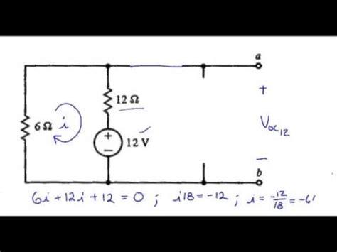 thevenin s theorem exle with solution doovi