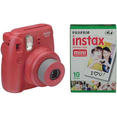 fujifilm instax mini 8 instant fujifilm instax mini 8 instant with single pack of