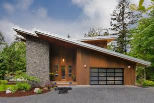 Garage Roof Designs Modern Butterfly Roof Design Garage Contemporary With