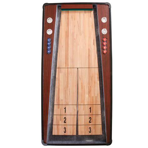 best wood for shuffleboard table ricochet 7 ft shuffleboard table