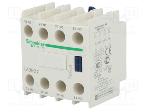 Kontak Bantu Ladn22 2no 2nc ladn22 2no 2nc 2 a 231 ık 2 kapalı yardımcı kontak bloğu schneider doğuş elektrik