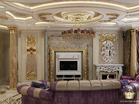 classic luxury living room interior design of the luxury classic and eclectic living room designed by