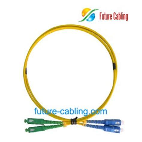 Patchcord Scapc Scapc Singlemode Duplex 40 Meter wholesale cheap sc apc sc pc fiber optic patch cords simplex singlemode 9 125um 3 0mm xx
