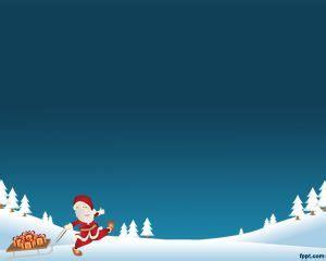 background natal biru santa latar belakang untuk powerpoint powerpoint template