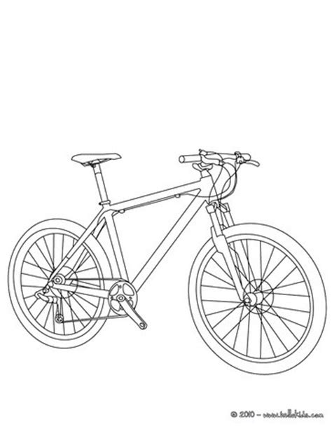mountain bike coloring pages hellokids com