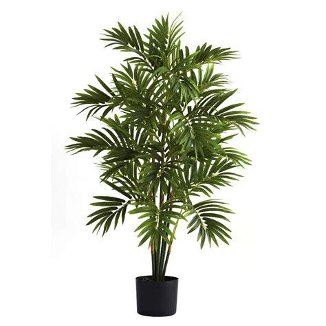 Home Depot Artificial Plants by 3 Silk Areca Palm Tree Artificial Trees Silk Trees