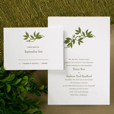 Occasions Wedding Invitations by Occasions To Letterpress Wedding Invitations From