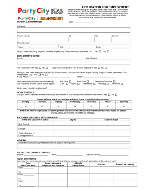 printable job application for bath and body works bath and body works careers