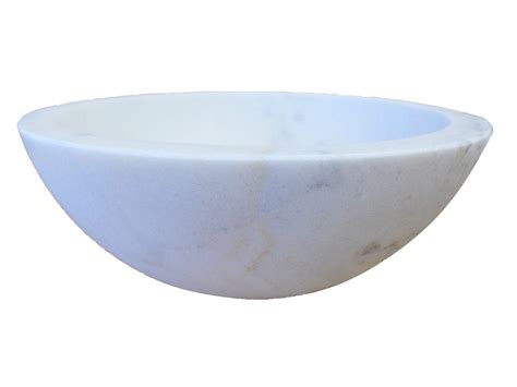 small white vessel sink bath small vessel sink bowl honed white marble eb