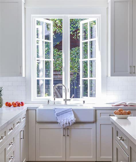 kitchen cabinets with windows casement kitchen window design ideas