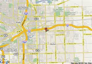 Map Flint Michigan by Map Of Super 8 Motel Flint Burton Area Burton