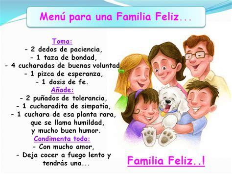 imagenes de la familia feliz noti aula 161 receta para una familia feliz