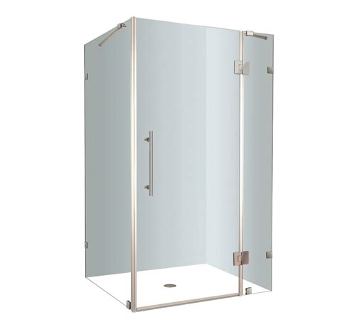 48 Inch Shower Stall by Aston Avalux 48 Inch X 36 Inch X 72 Inch Frameless Shower