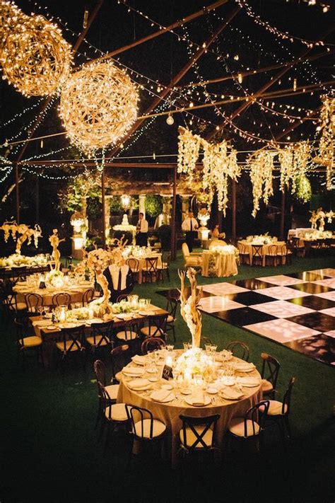 Outdoor Lighting For Weddings Your Ultimate Guide To Wedding Lighting Bridal Musings