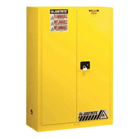 justrite flammable storage cabinet justrite flammable storage safety cabinet 60 gallons self