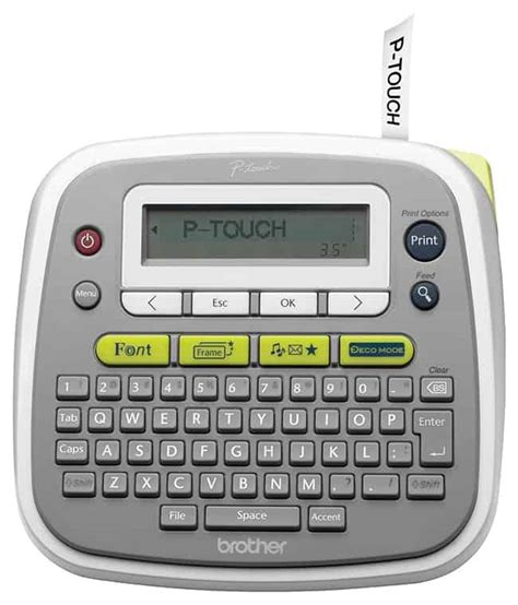 Pt D200 Epson P Touch Label Maker Giveaway Hellonatural Co