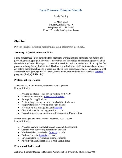 resume exle for bank teller sle bank teller resume free resumes tips