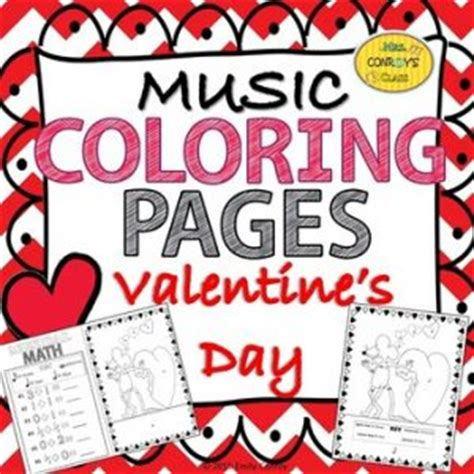 music valentine coloring pages valentine s day printable roundup for kids inner pieces