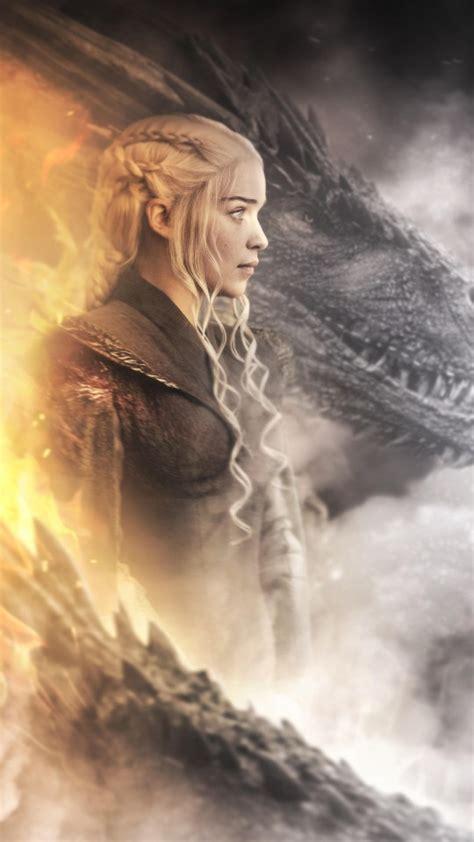 daenerys targaryen dragon  game  thrones  wallpapers