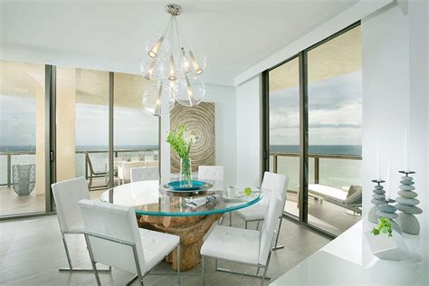 Small Sputnik Chandelier Urbane Miami Home Brings Chic Sophistication To Coastal Style