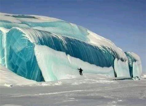 frozen waves frozen wave in antarctica travel photos pinterest