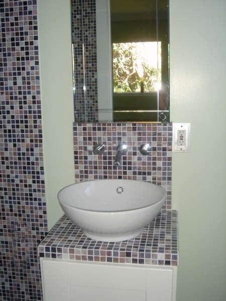 mosaic bathroom countertop mosaic tile countertop outdoor kitchen pinterest