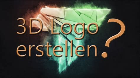 tutorial logo erstellen photoshop beginner photoshop cinema4d tutorial 3d logo erstellen