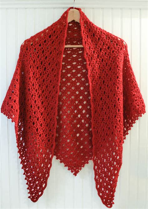 shawl pattern free lacy shawl crochet pattern with beaded edging