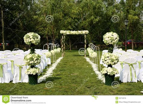 Backyard Wedding Free Outdoor Wedding Stock Image Image Of Celebration
