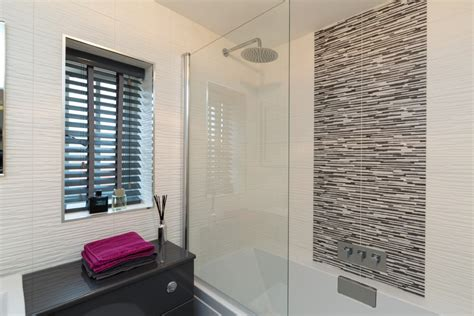 Gray Bathroom Window Treatments How And Ian Got A Boutique Hotel Feel With Blinds