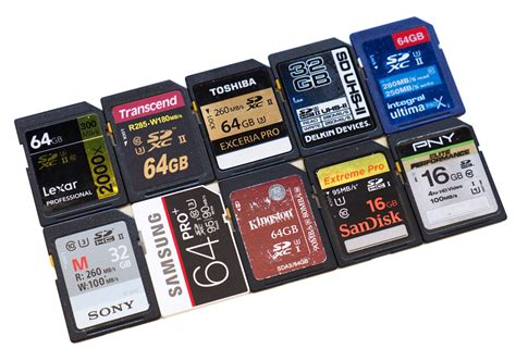 best sd cards top 10 best sd memory cards tested 2016
