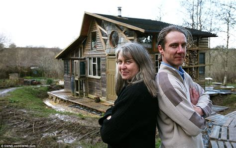 buy land in london to build house the good life goes on couple who spent five years building an eco home in the country