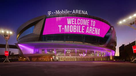 at and t mobile the coolest things about the new t mobile arena site of