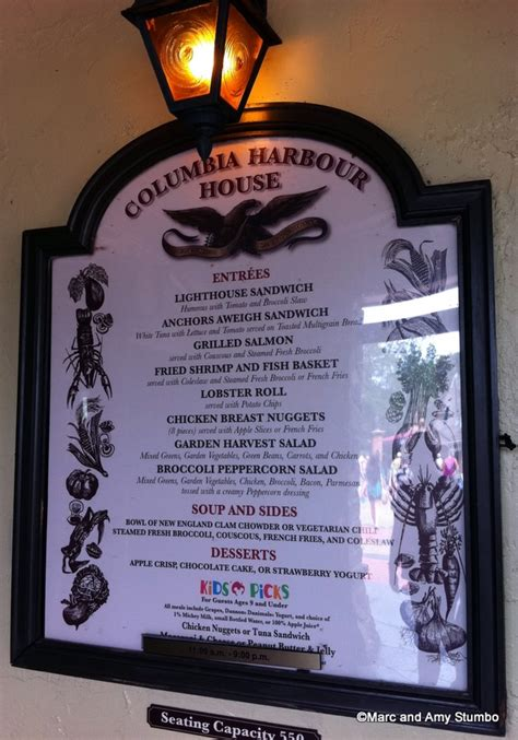 columbia harbor house menu columbia harbour house unveils new nutritious menu dining reviews and information