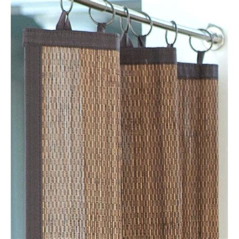 patio curtains canada outdoor bamboo curtains teawing co