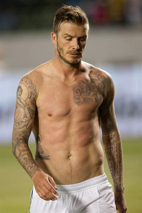 tattoo david beckham zij betekenis the most iconic tattoos in the world of soccer the18