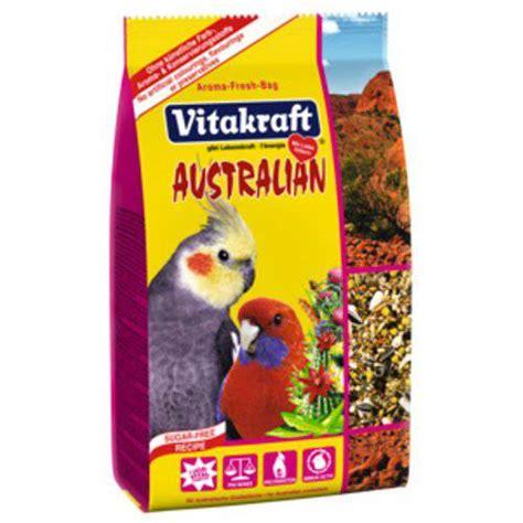 vitakraft alimento completo  aves australianas tiendanimal