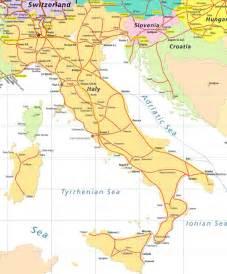 Italy Rail Map by Italy By Train Rail Plus Australia